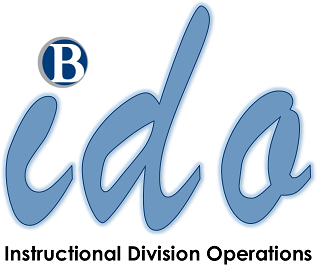 ido - Instructional Division Operations logo