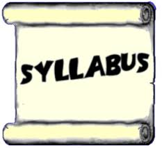 Syllabus in large black letters
