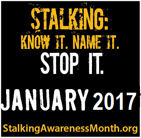Stalking know it, name it, stop it