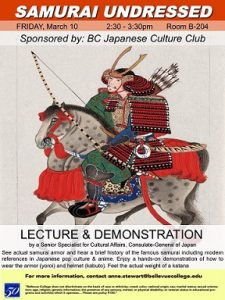 Lecture and demonstration flyer