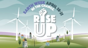 Rise UP. Be the Change Flyer
