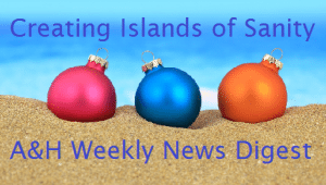Holiday themed newsletter