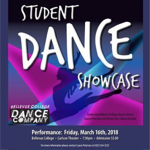 Dance Showcase flyer