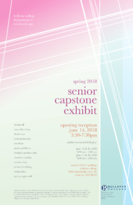 Capstone invitation flyer