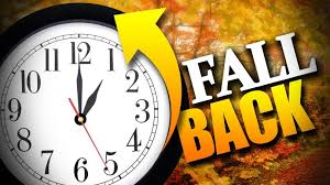 Daylight Saving Time Ends flyer
