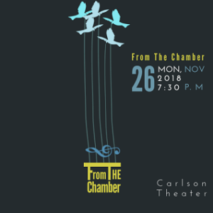 From the Chamber performance flyer